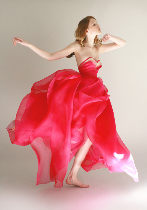 Red Gown Color