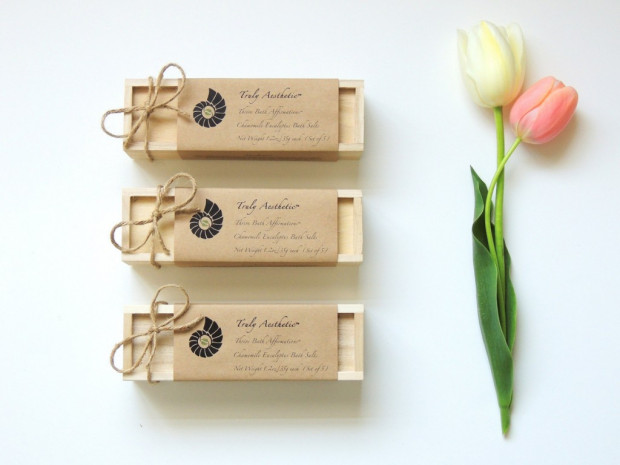 bridesmaid gift bath salts