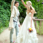 Organic Wedding Gown