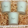 Scented Votive Gift Crate Personalised