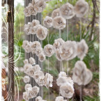 Rose Paper Curtain