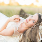 twig and vine bridal headpiece