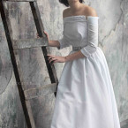 Tea Length Wedding Dress from Line- Albali