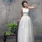 Mikado Wedding Dress - Antares