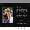 Maid of Honor Picture Frame, Matron of Honor Frame