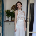 Long Lace Bridal Nightgown