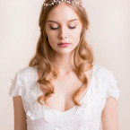 Wedding Tiara of Rhinestone
