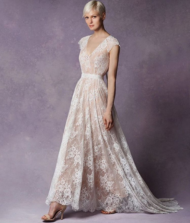 Beautiful Lace Wedding Gown | Kohabit