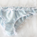Bridal Panties Ruffled Knickers Something Blue