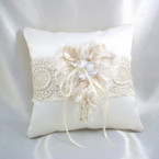 Bohemian Bridal Ring Pillow
