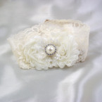 Ivory Lacey Garter